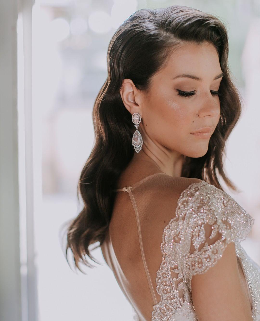 jeanettemaree bridal earring