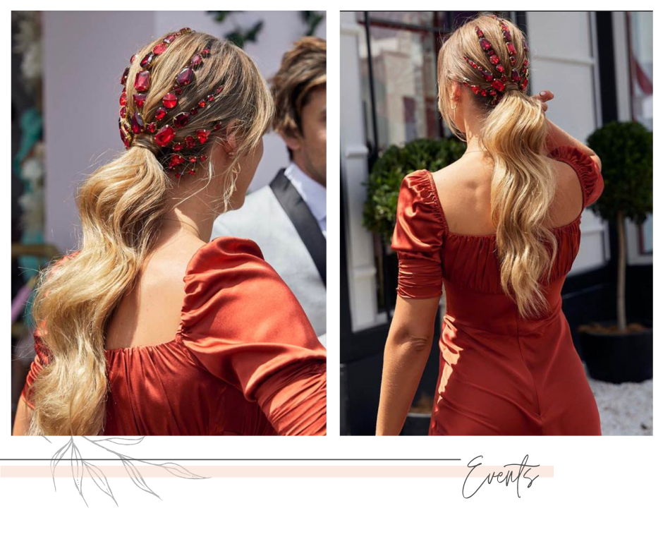 Spring Racing Head Piece – Jeanette Maree