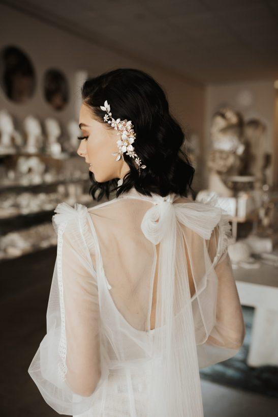 Modern Bridal Ear Cuff