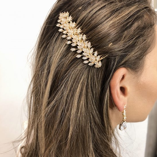 Classic Hollywood Glam Hair PIn, Finger Wave Hair PIn   Emit -Jeanette Maree