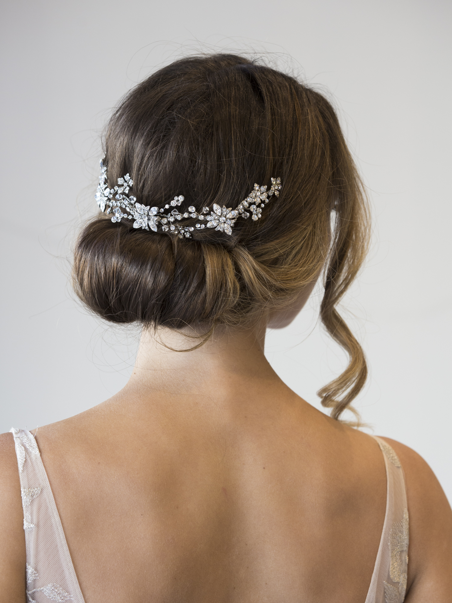 Bridal Hairpiece for back of hair