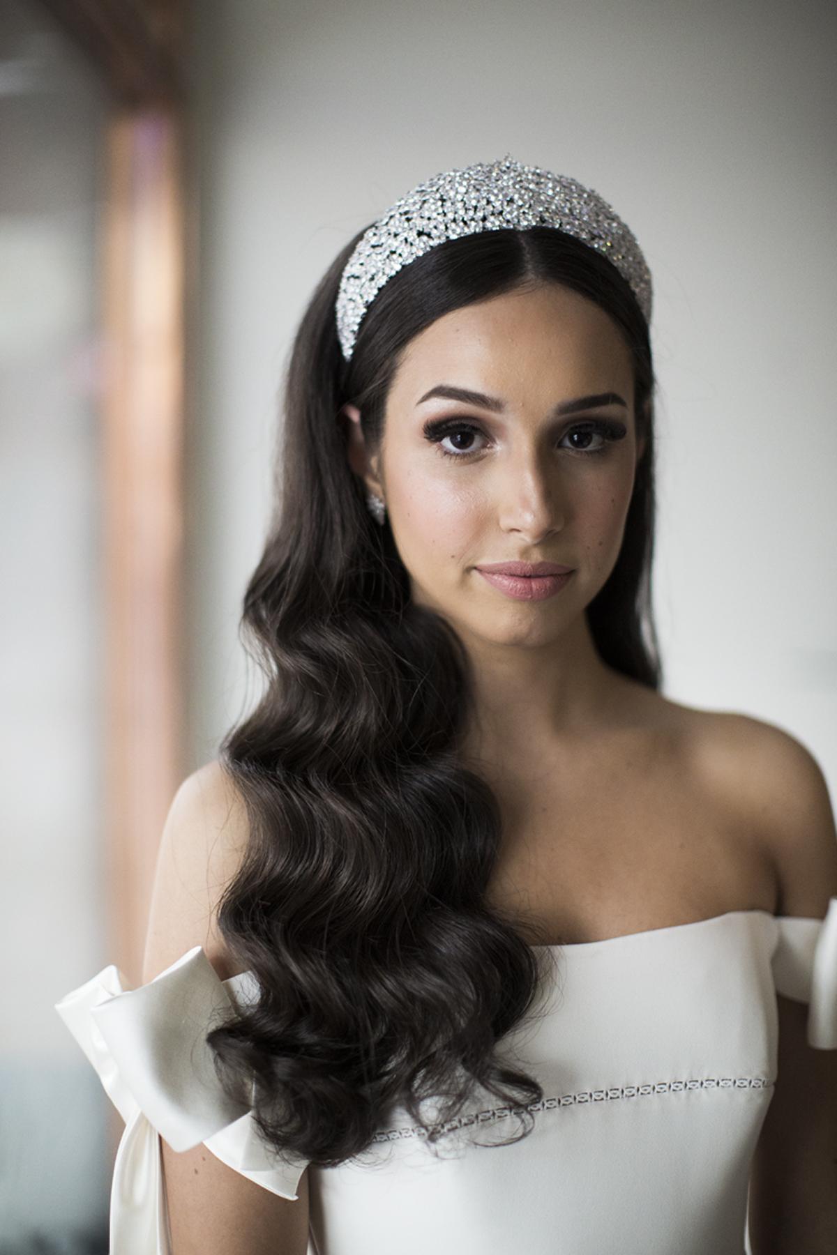 Bridal Headband   Jeanette Maree Melbourne