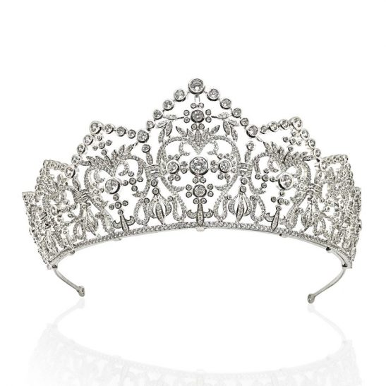 A perfect bridal crown for your big day HT1813