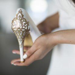 Leather Embellishment (heel)