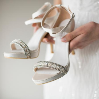 bridal shoes custom